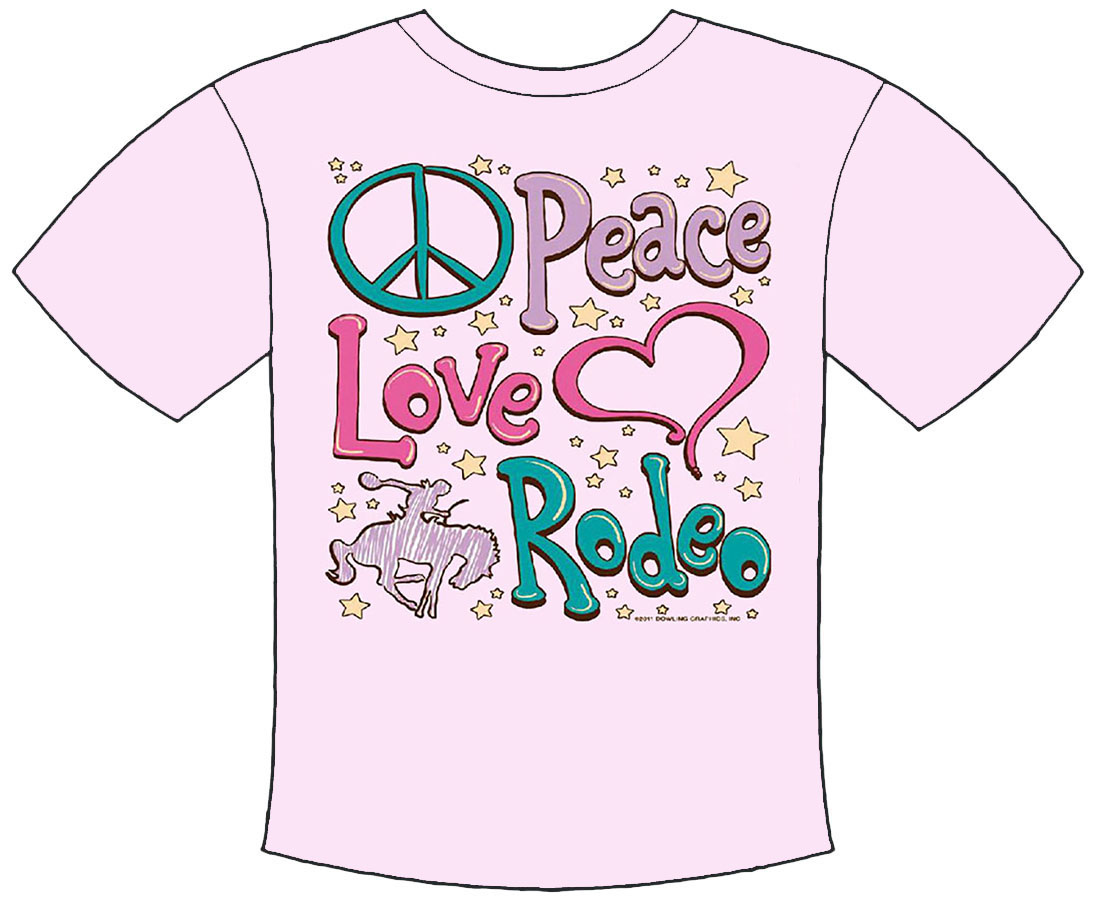 Peace Love Rodeo T-Shirt